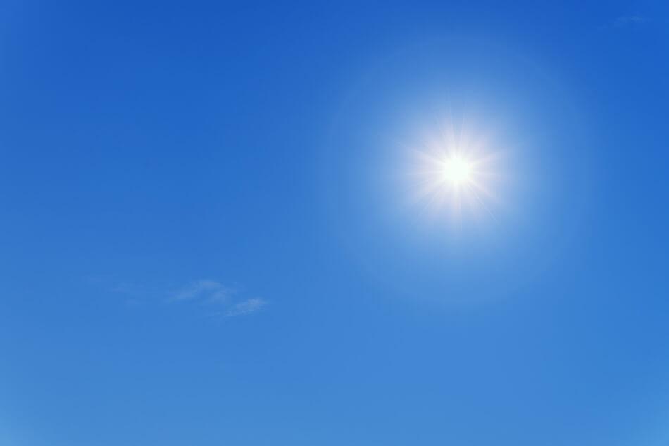 Mặt Trời nóng bỏng